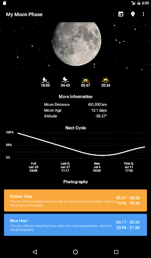 My Moon Phase - Lunar Calendar & Full Moon Phases screenshot 5