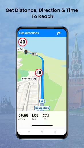 GPS Satellite - Live Earth Maps & Voice Navigation screenshot 4