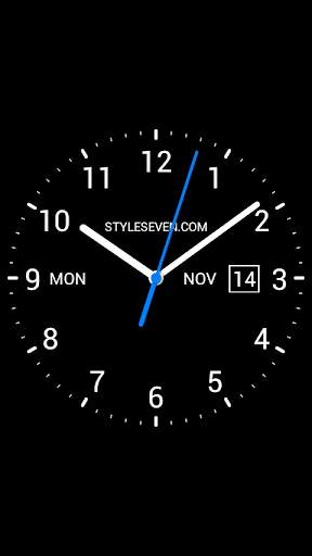 Analog Clock Live Wallpaper-7 screenshot 5