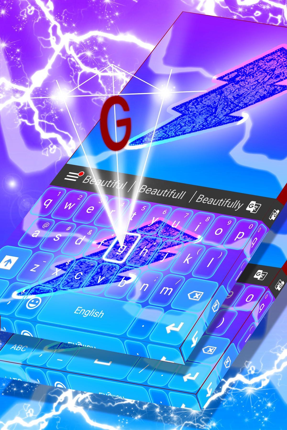 Flash Theme For Keyboard 2018 screenshot 1