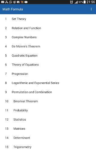 Math Formula for 11th 12th screenshot 4
