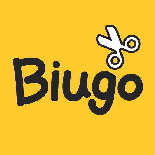 Biugo-video maker, photo video maker, video editor icon