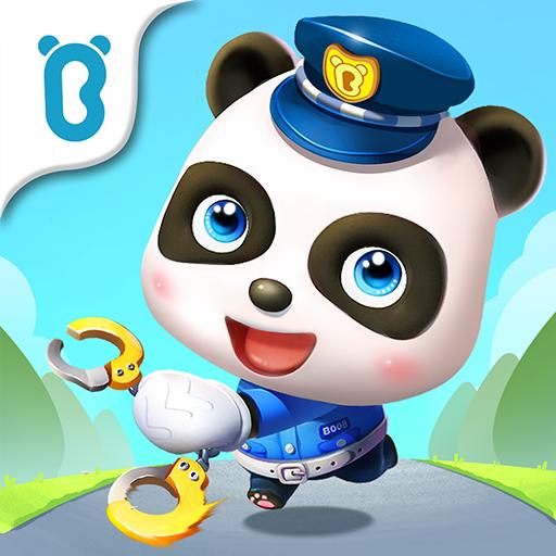 बेबी पांडा पुलिस ऑफिसर आइकन