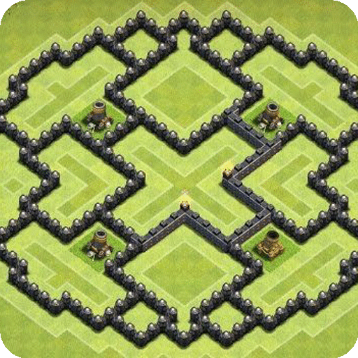 Maps of Clash of Clans 2021 أيقونة