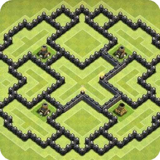 Maps of Clash of Clans 2021