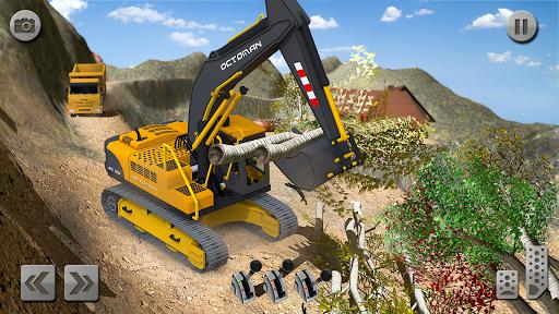 Sand Excavator Simulator 2021: Truck Driving Games screenshot 6