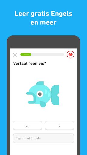 Leer Engels met Duolingo screenshot 3