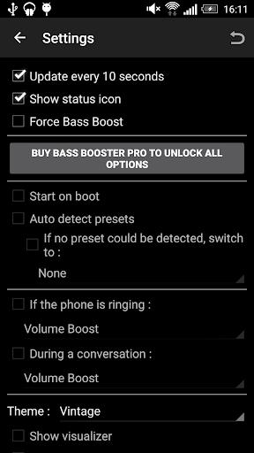 Bass Booster - Music Equalizer screenshot 3