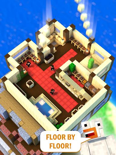 Tower Craft 3D - لعبة بناء من نوع ألعاب الخمول 6 تصوير الشاشة
