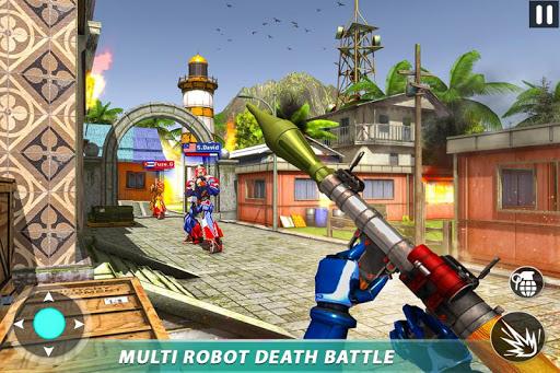 Counter Terrorist Robot Game: Robot Shooting Games screenshot 4