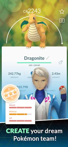 Pokémon GO 5 تصوير الشاشة