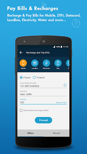Bill Payment & Recharge,Wallet 4 تصوير الشاشة