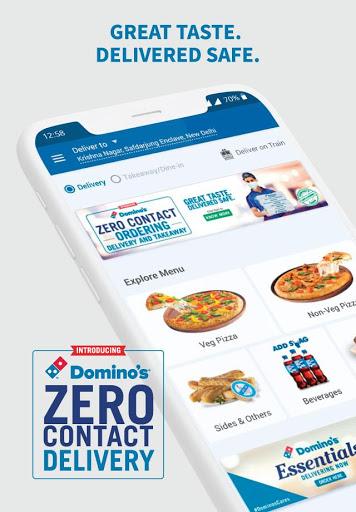 Domino's Pizza - Online Food Delivery App screenshot 1