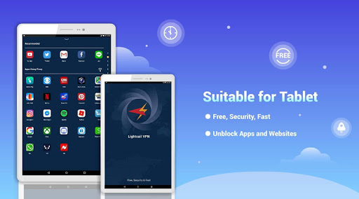 LightSail VPN, unblock websites and apps for free screenshot 7