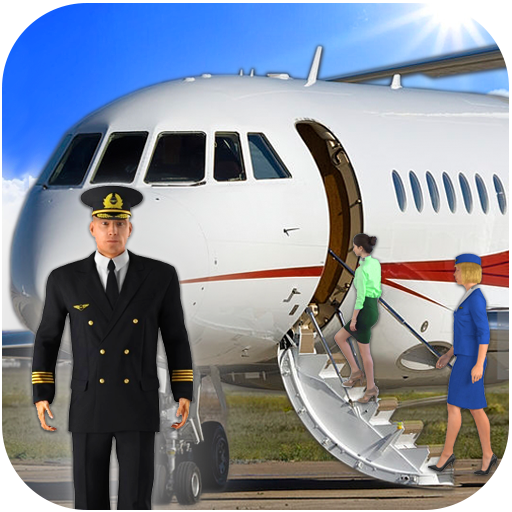 Airplane Real Flight Simulator 2020 : Plane Games icon