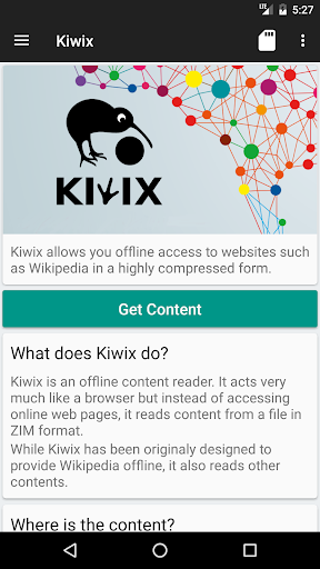Kiwix, Wikipedia offline screenshot 7