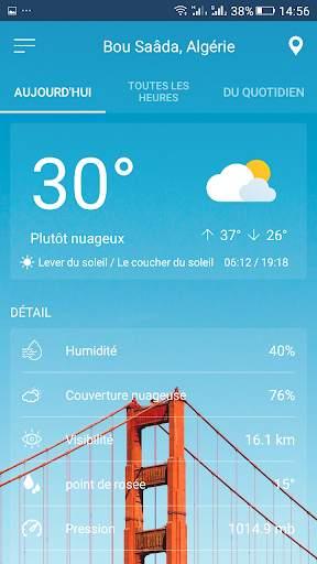 أحوال الطقس screenshot 2