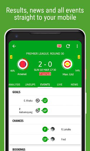 BeSoccer - Soccer Live Score screenshot 6
