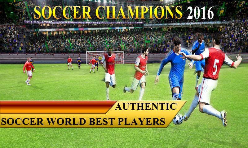 Soccer Champions 2016 1 تصوير الشاشة
