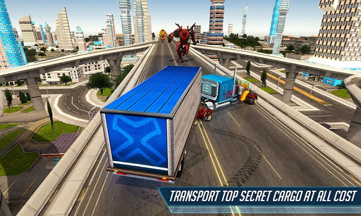 Grand Police Truck Robot War Transform Robot Games screenshot 5