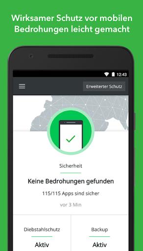 Antivirus & Sicherheit Lookout screenshot 1