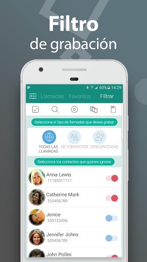 Call Recorder - Grabador de llamadas gratis screenshot 7