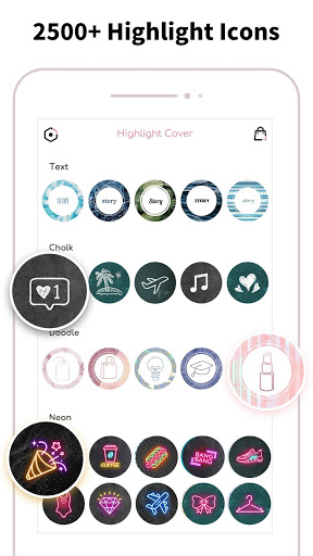 Highlight Cover & Logo Maker for Instagram Story screenshot 2