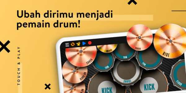 REAL DRUM: Drumset Elektrik screenshot 1