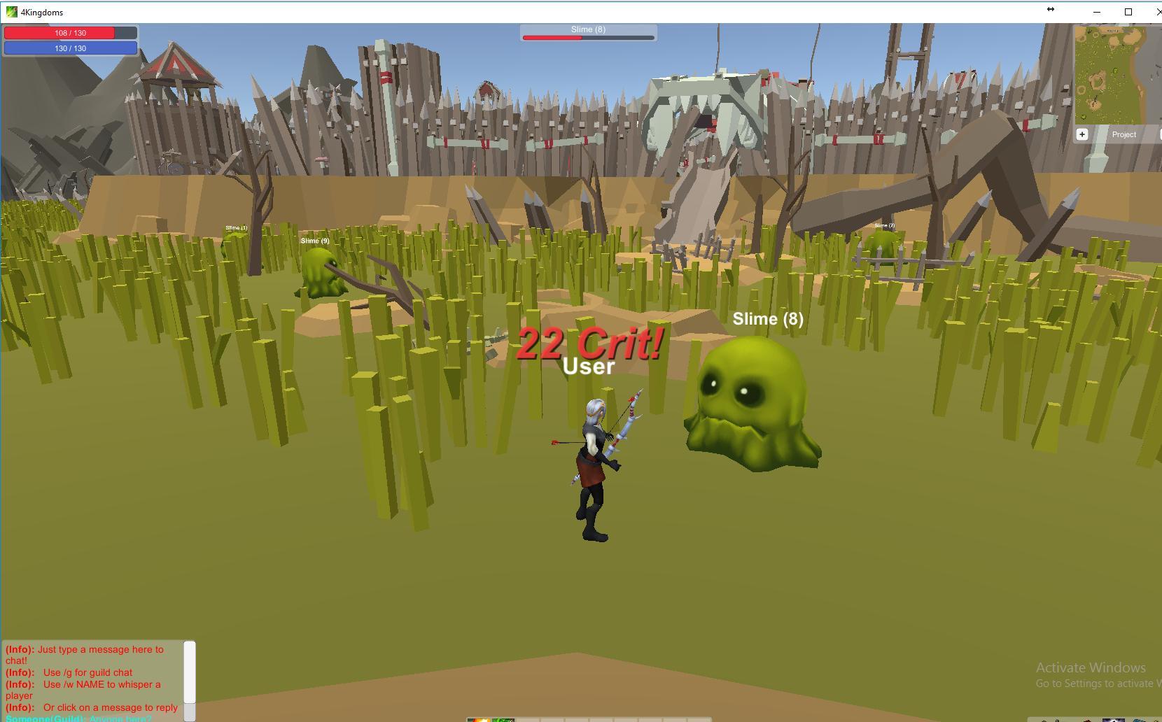 4 Kingdoms MMORPG Online screenshot 1