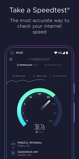 Speedtest от Ookla скриншот 1
