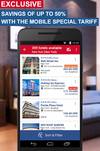 Hotel Search HRS (New) screenshot 1