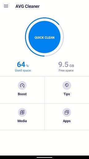 AVG Cleaner – Junk Cleaner, Memory & RAM Booster screenshot 1