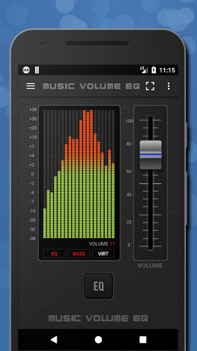 Music Volume EQ — Equalizer Bass Booster Amplifier 1 تصوير الشاشة