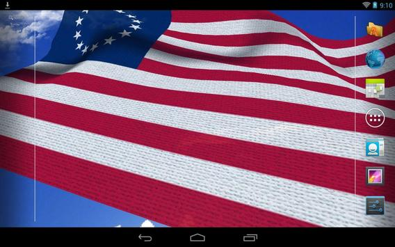 US Flag Live Wallpaper screenshot 10