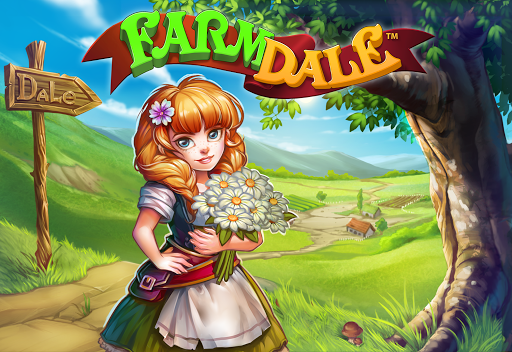 Farmdale: farming games & township with villagers screenshot 14