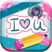 Write on Photo – Love Words icon