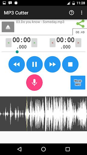 MP3 Cutter screenshot 2