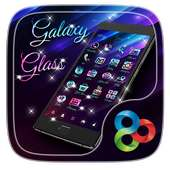 Galaxy Glass Go Launcher Theme on 9Apps