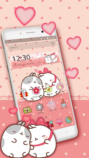 Cute Kitty Love Theme screenshot 3