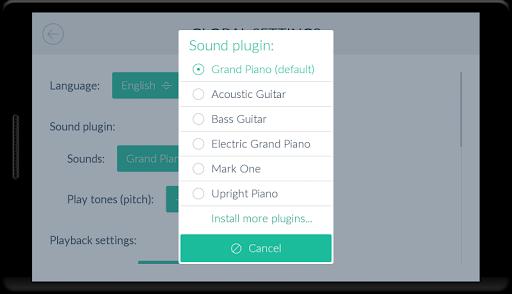 Acoustic Guitar *Plugin* 3 تصوير الشاشة