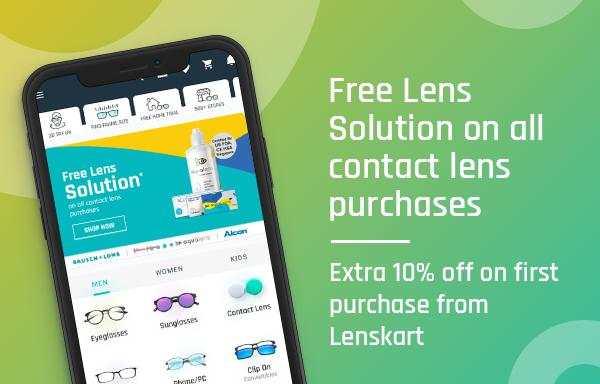 Lenskart: Eyeglasses, Sunglasses, Contact Lens App screenshot 2