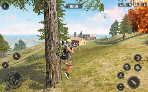 Free Firing Battleground Squad : Free fire Squad screenshot 11