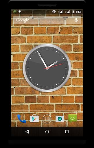 Metal Clock Live Wallpaper 5 تصوير الشاشة