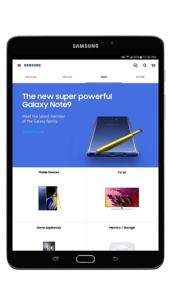 Samsung Shop screenshot 11
