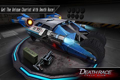 Fire Death Race:Crash Burn 5 تصوير الشاشة