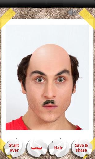 Make Me Bald Prank 3 تصوير الشاشة
