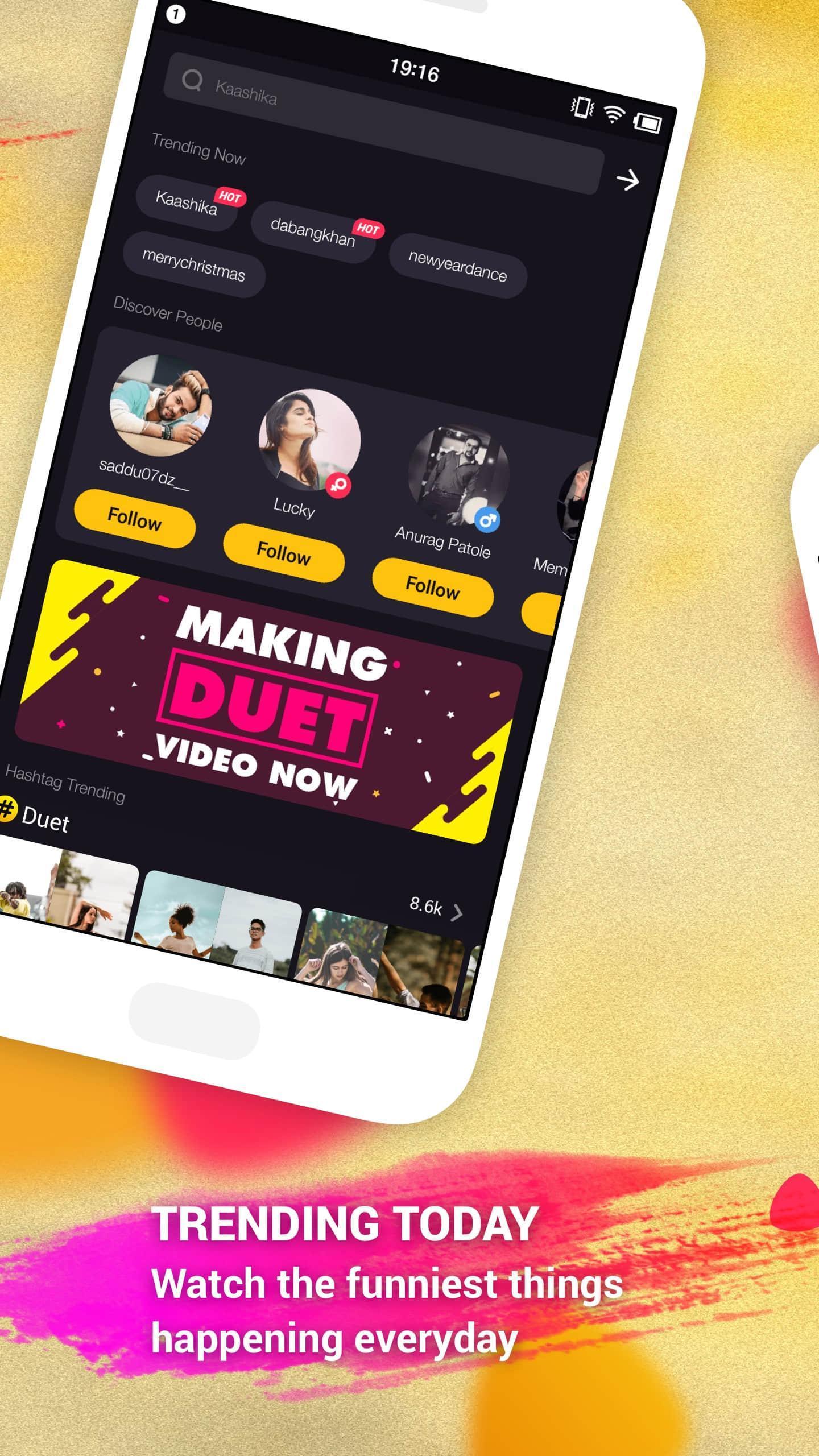 togetU – Funny Video Maker, Video Status Community 3 تصوير الشاشة