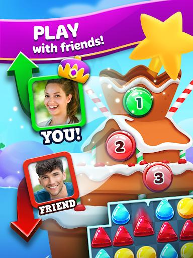 Frozen Frenzy Mania – Match 3 10 تصوير الشاشة