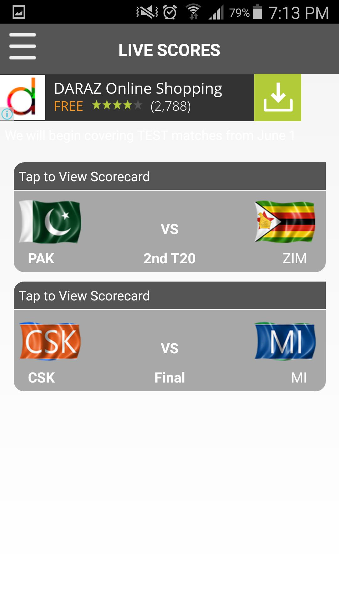 CricExtra - Live Cricket 2015 screenshot 6