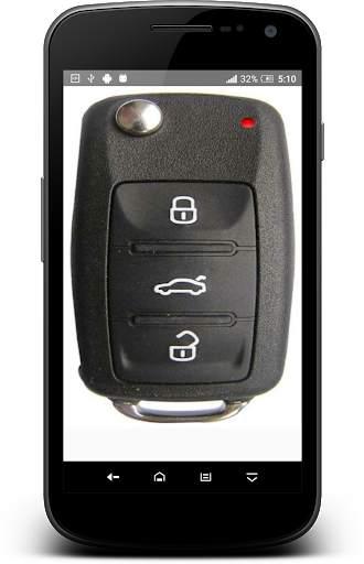 مفتاح السيارة عن بعد قفل محاكي 6 تصوير الشاشة